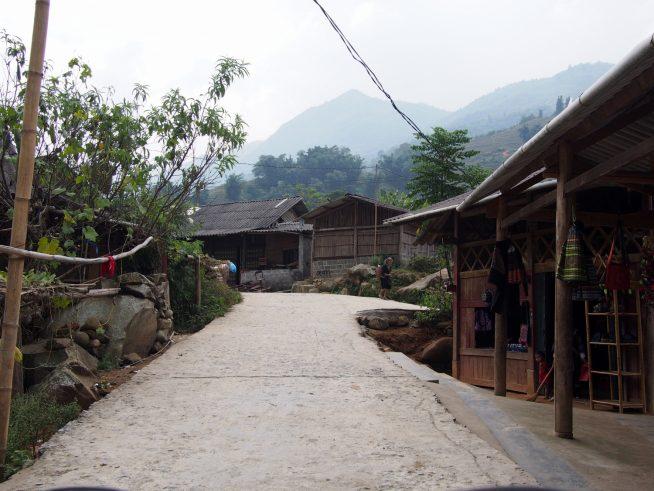 ラオチャイ村の様子