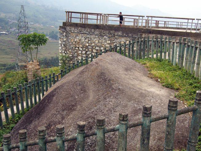 Bai Da Coという古い岩