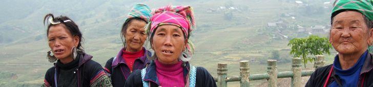 サパから数キロのところにあるモン族・ザオ族・ザイ族の村「ラオチャイ」「タヴァン」を訪問