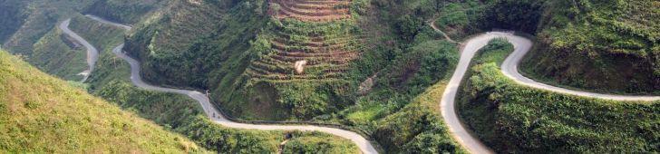 ツーリング好きにはたまらないベトナムの美しい峠3線
