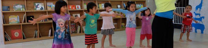 おおぞら日本人幼稚園で「こころとからだdeおどろう」ダンスワークが開催されました