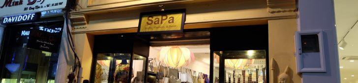 サパ・クラフト・アンド・ファッション(Sapa Crafts & Fashion)