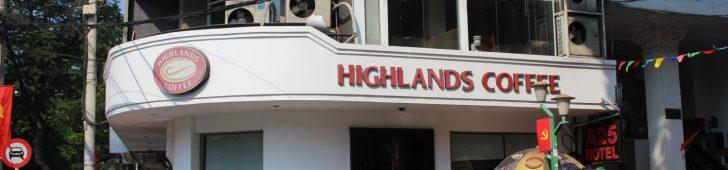 ハイランドコーヒー ファングーラオ店(Highland Coffee Pham Ngu Lao)