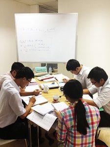 定時後の日本語学習