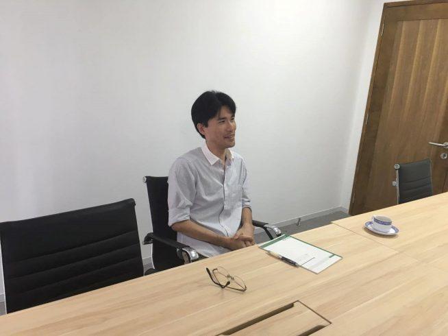転職されて、現在の会社に入社されました。