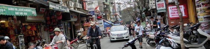 ハノイの旧市街は道の由来を知ると街歩きが楽しくなる