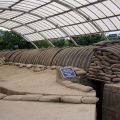 フランス軍ディエンビエンフー基地のド・カストリーの総司令部跡