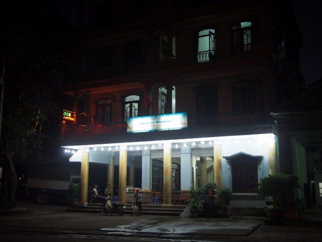 ムオンチャ町のホテル