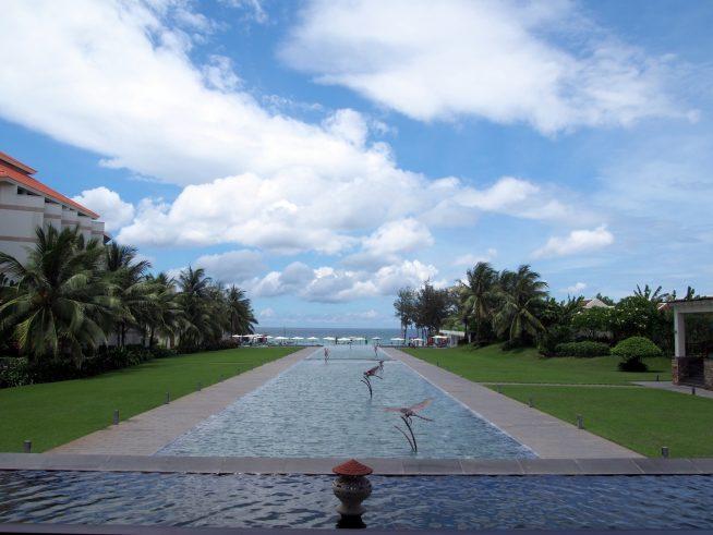 プルマン・ダナンから見るビーチ