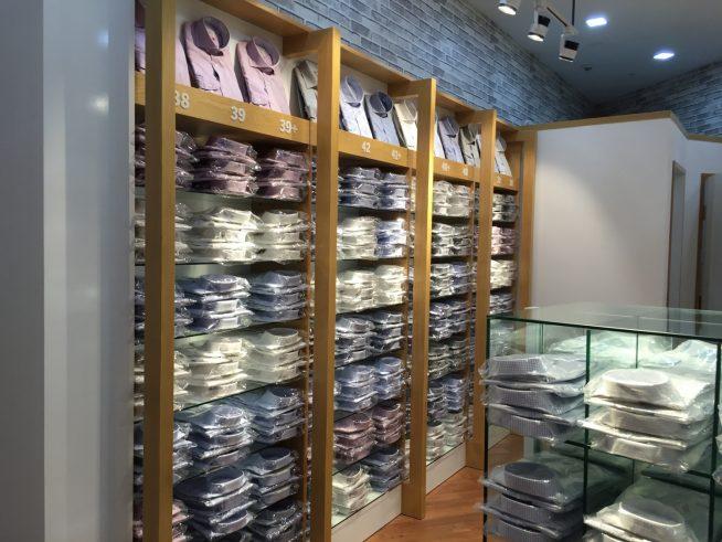 ハノイにオープンした早稲田屋シャツ店舗