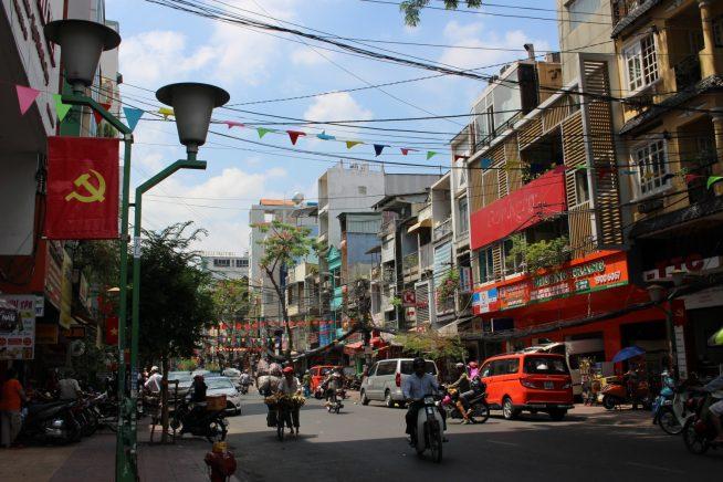 ベトナムの街並み