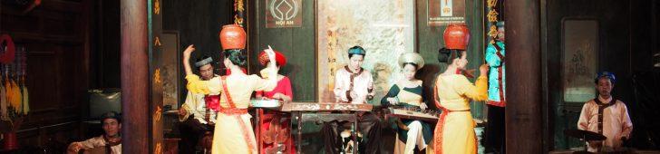 ビエウ・ディエン・ゲ・トゥアット・コー・チュエン・ホイアン(Biểu diễn nghệ thuật cổ truyền Hội An)