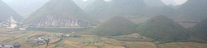 ハザン省クアンバにあるヘブンズゲイトと「おっぱい山」の絶景