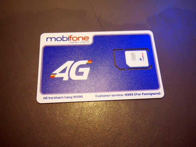 4G対応SIMカード