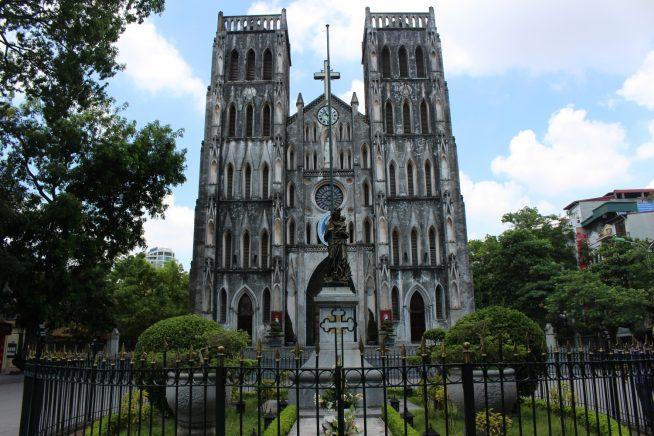 ハノイ大教会(正面)