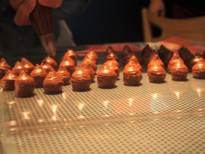 光沢のある綺麗なチョコレート
