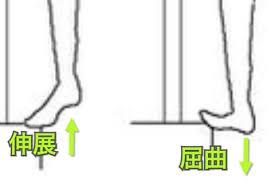 段差を使った足首ストレッチ