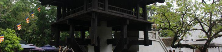 ハノイに行ったら必見!蓮花台とも呼ばれるベトナムの象徴的な建物「一柱寺」