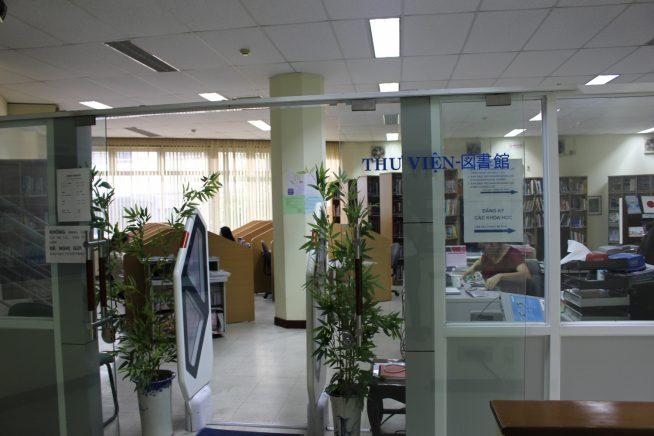図書室入り口