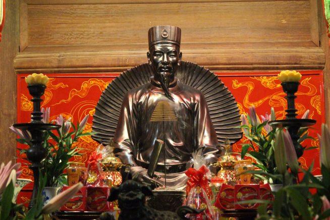 朱文安(チュウ・ヴァン・アン)の像