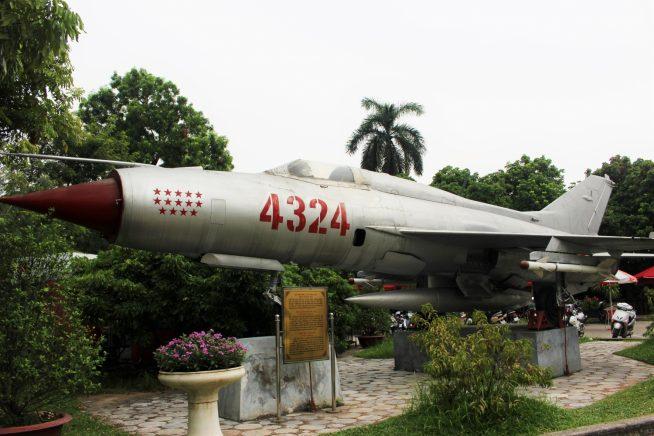 ミグ21型5121号戦闘機