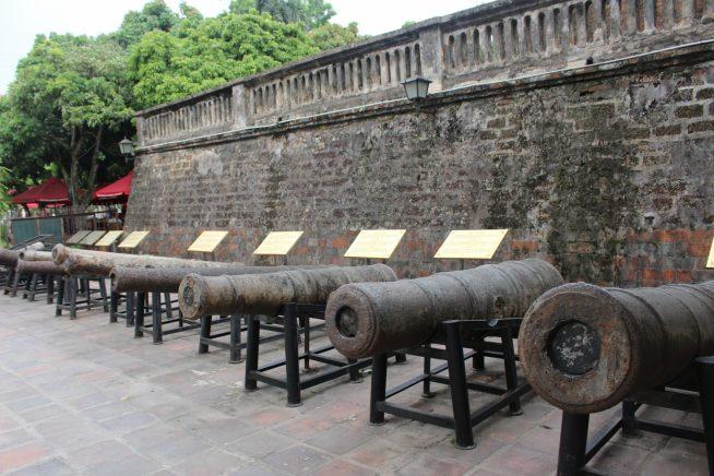 大砲の数々