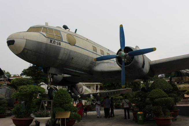 旧ソビエトにより造られた飛行機