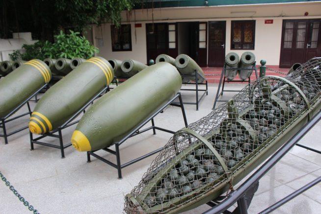アメリカ軍がベトナム戦争で使った爆弾など