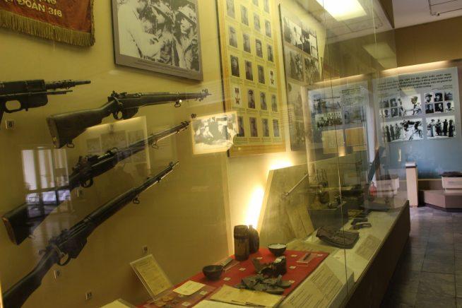当時用いられていた武器など