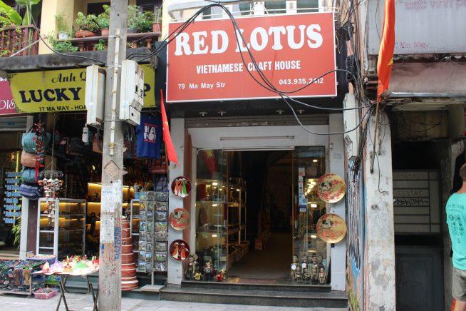 ベトナム伝統工芸品を多く販売している雑貨屋さん