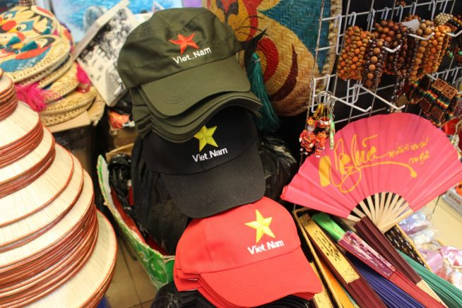 ベトナム土産によさそうな帽子
