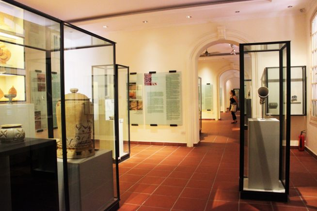展示品の数々