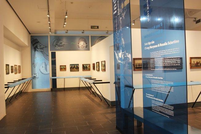 2階インドネシア絵画の展示室