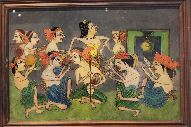 インドネシアの絵画