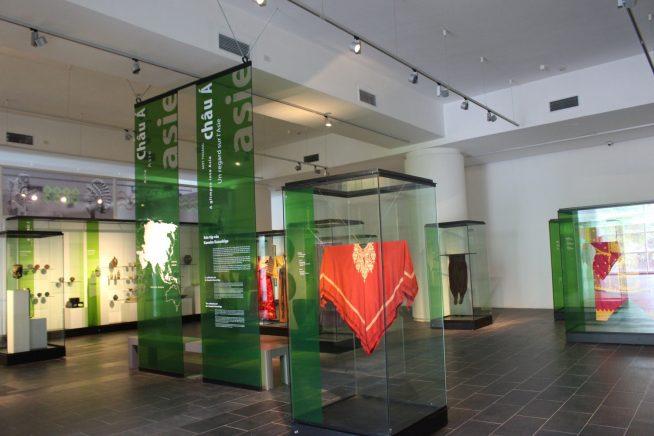 2階アジア全般のコレクション展示室
