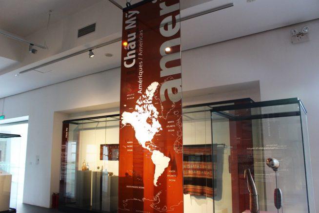 アメリカの展示エリア
