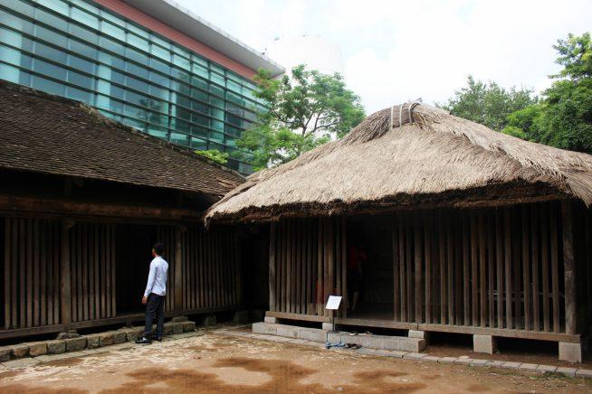 チャム族の家