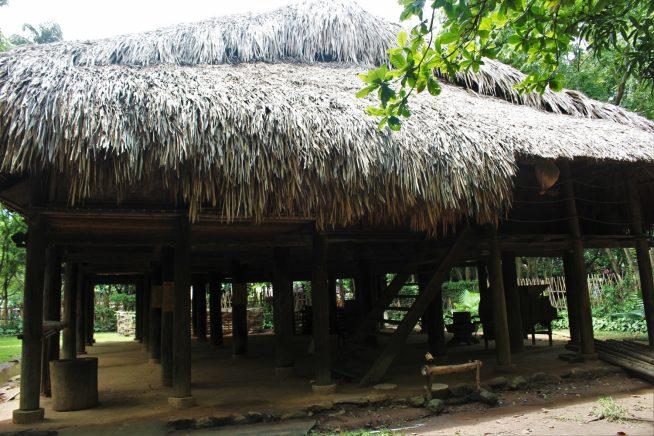 タイ族の高床家屋