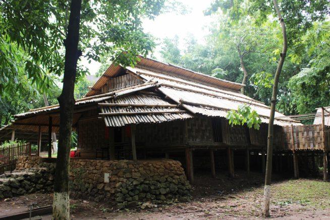 ザオ族の家