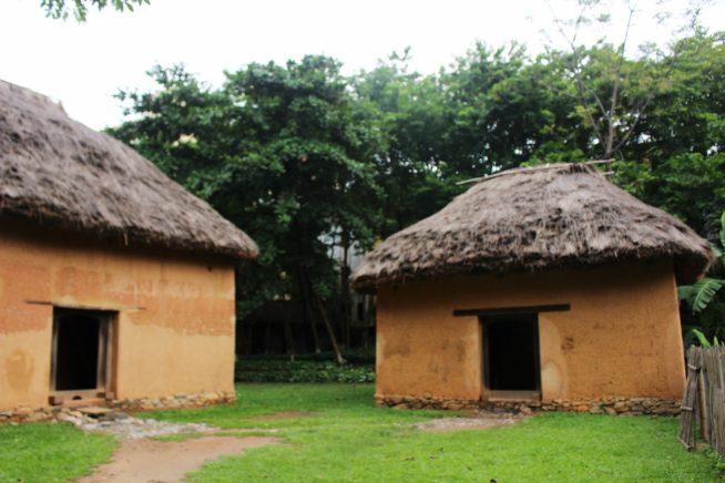 ハニ族の家