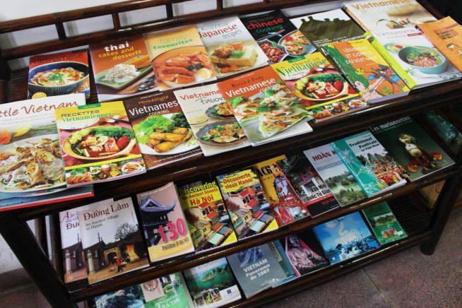 ベトナムの料理本がたくさん!