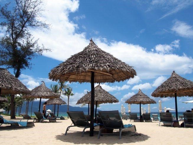 高級ホテルが持つプライベートビーチ