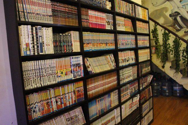 1階の本棚