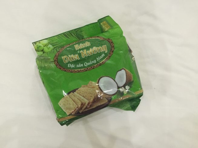 ベトナム土産「ココナッツクッキー