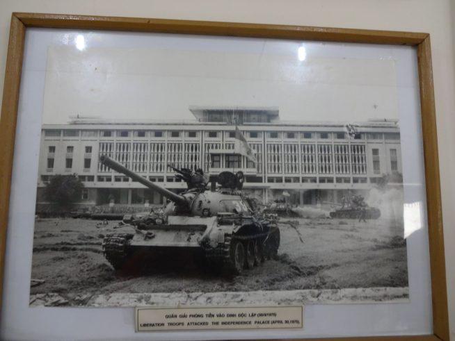 ベトナムの歴史を語る写真