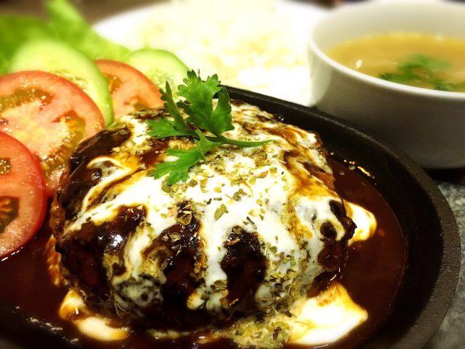「MEAT MAN」新メニュー①ハンバーグステーキ
