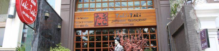 Taki Taki – Nhà Hàng Nhật Bản