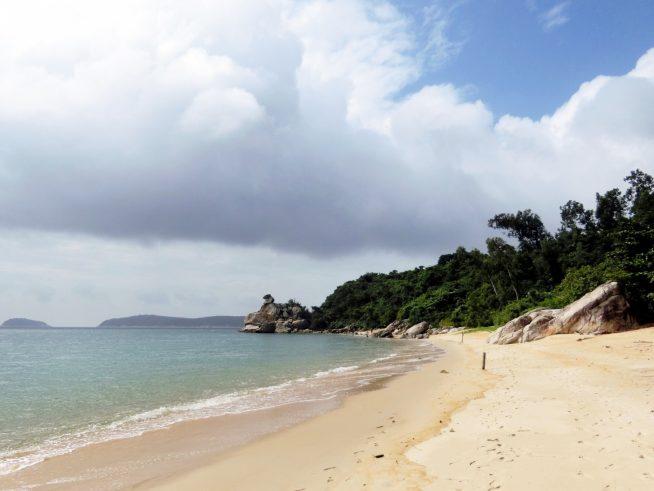 チャム島は、生物圏保護区に指定されている通り、豊かな自然が残されています。