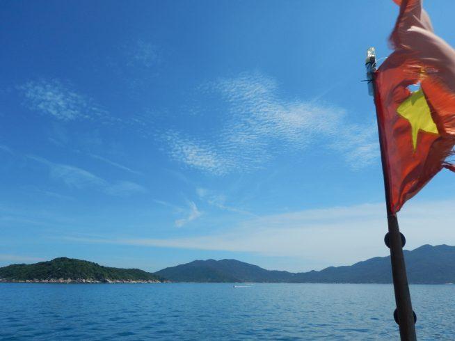 船からの景色もとても綺麗です。