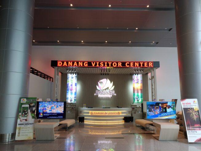 ダナン国際空港 国際線ターミナル配布場所
